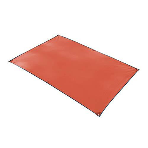3-4 tienda de la gente de tierra de tela al aire libre camping cielo cortina cortina de la sombrilla Pergola dosel de tela Oxford Mat Adecuado for picnic en la playa que va de excursión ( Color : B1 )