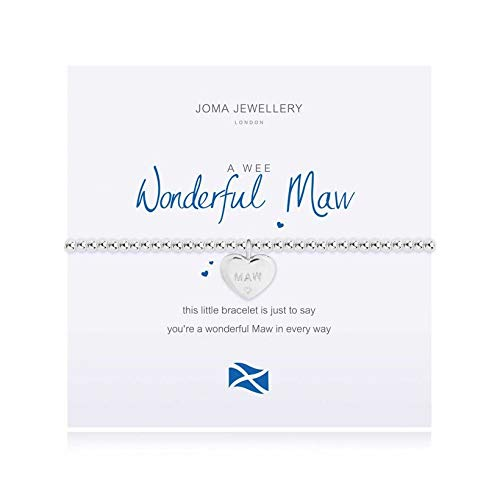 Joma Jewellery a Little Wonderful Maw Bracelet | Scottish