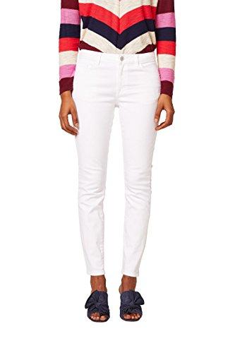edc by Esprit 028cc1b012 Vaqueros Skinny, Blanco (White 100), W27/L34 (Talla del Fabricante: 27/34) para Mujer