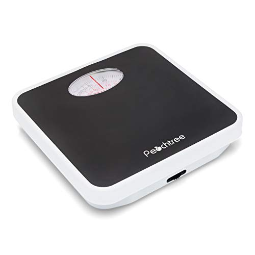 AMERICAN WEIGH SCALES Peachtree RB-125 Mechanical Bathroom Scale with...