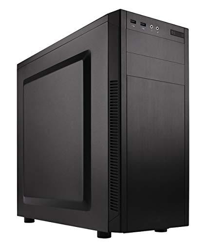 Adamant Custom 6X-Core Liquid Cooled Workstation Desktop PC Intel Core i7 8700K 3.7Ghz 16Gb DDR4 3TB HDD 500Gb SSD 600W PSU Wi-Fi AMD Radeon WX 4100