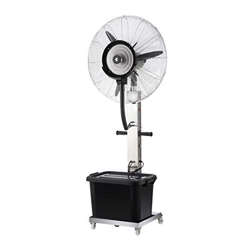 HGNA-Kühl&Heizsystem Großer Luftkühler Bodenventilator Edelstahl Swing Einstellbare Wasserzerstäubung Mute Werkskühlung Anpassung 3 Gangeinstellung (Size : 75cm)