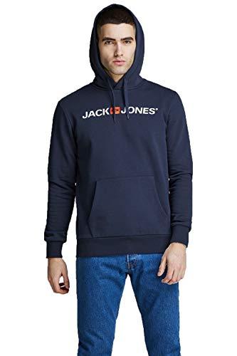 Jack & Jones -   Male Hoodie Logo