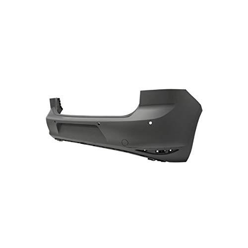 DM Autoteile Stoßstange hinten grundiert 4x PDC passt für Golf VII 7 ab 10/2012 auch GTI