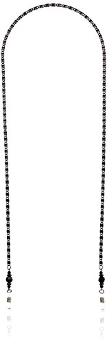 """1928 Jewelry Unisex """"Boutique Gifts"""" Black Chain Eyeglass Holder, 30"""""""