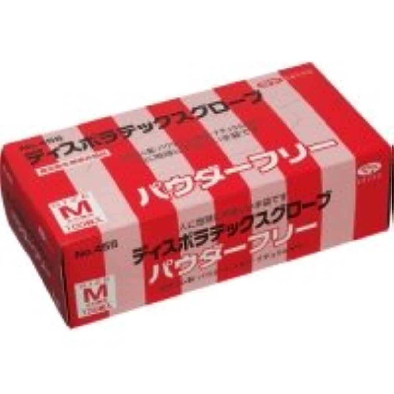 虚栄心プール粗いエブノ ディスポラテックスグローブ No.455 パウダーフリー M 1箱(100枚)
