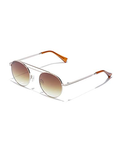 HAWKERS Nº9 Gafas de sol, BROWN, Talla única Unisex Adulto