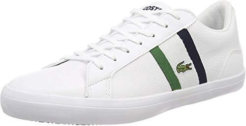 Lacoste Lerond 119 3 CMA, Zapatillas para Hombre, Blanco (Wht/Nvy 042), 45 EU