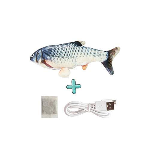 LanTianX Juguete ElectróNico para Gatos, SimulacióN De Carga EléCtrica USB, Perro, Mordedores,...