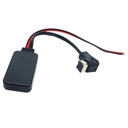 F Fityle Cable Auxiliar Adaptador de Entrada de Audio Módulo Bluetooth 4.0, Repuestos para Pioneer IP-Bus, Funciona con iPod/iPad/iPhone 5 5C 5S 6 6 Plus