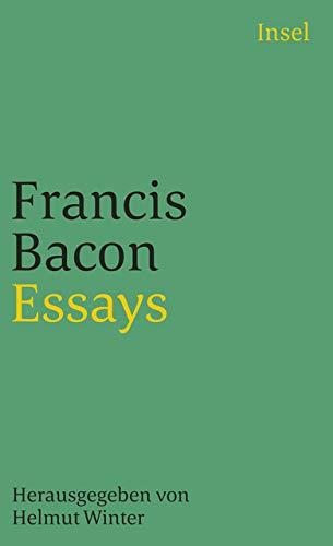 Essays: In der überarbeiteten Fassung der Übertragung von Paul Melchers. Herausgegeben und mit einem Nachwort versehen von Helmut Winter (insel taschenbuch)