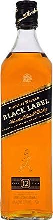 Johnnie Walker Black Label Scotch Whisky 12 Year, 750 ml, 80 Proof