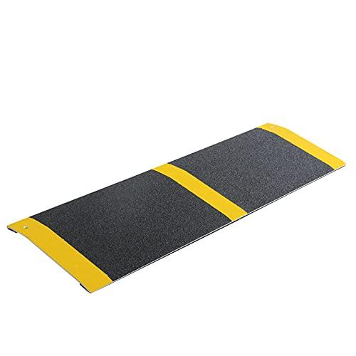 LIEKUMM Rampe de seuil portable en aluminium pour fauteuil roulant - 30 x 80 cm
