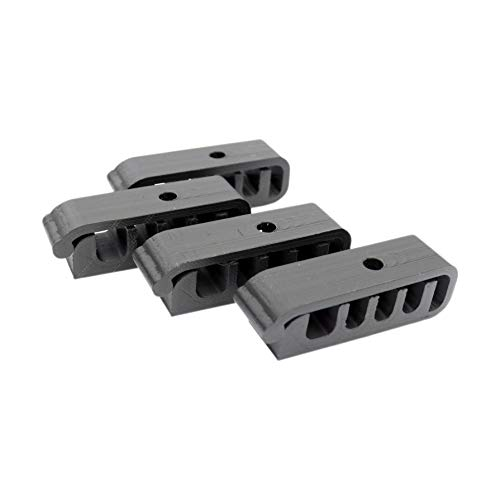 Anyasen Soporte Cables Escritorio 6 Piezas Clips de cable Organizador de Cable Clips Clips Cables para cables Organizador Autoadhesivo Organizador de Cables para Oficina y Hogar