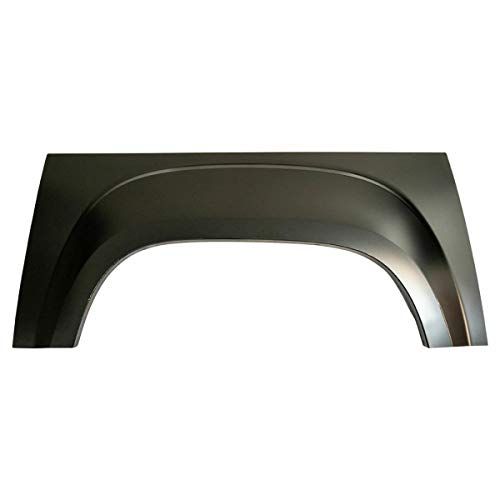 Pickup Truck Bed Wheel Arch Repair Panel Steel Passenger Side RH Compatible with GMC Sierra