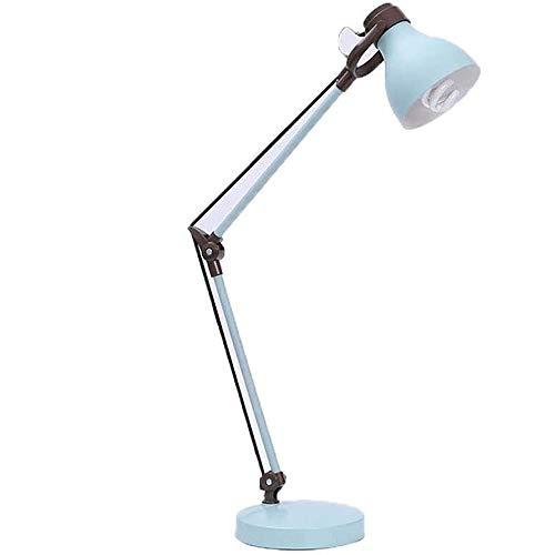Liangsujiantd Flexo Led Escritorio, El balanceo del Brazo lámpara de Escritorio, el Cuidado de los Ojos, lámparas de Mesa, Regulable Plegable lámpara de Mesa, bajo Consumo de energía, lámpara de Mesa