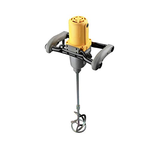 YXS Paddle Mixer Drill,1010W Concrete Mixer Plaster Mixer Single Paddle Plastering Mortar Paint Mixer 6-Speed 230V,for Mixing Plaster/Paint/Mortar/Glue/Adhesive
