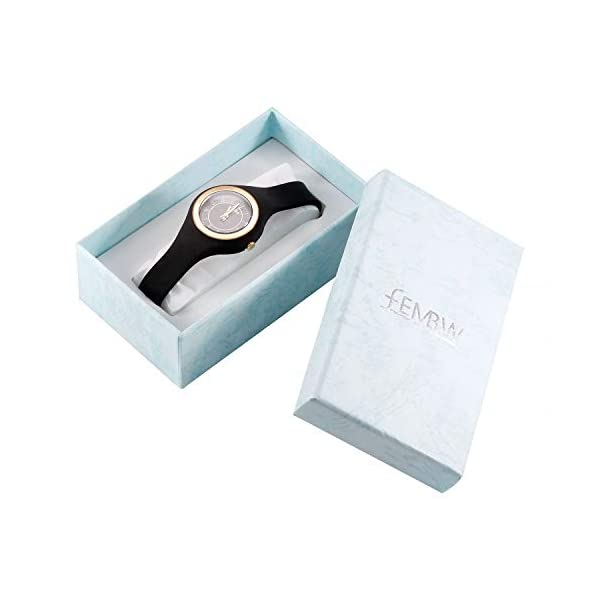Fashion Casual Analog Quartz Wrist Watch for Teens and Adults, Silicone Strap with Pin Buckle