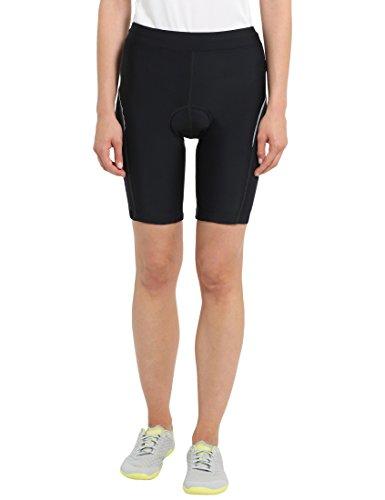 Ultrasport Bike Culote de Ciclismo, Mujer, Negro, XS