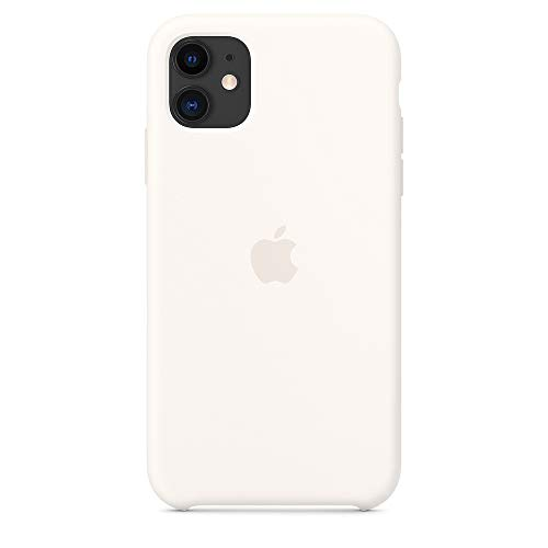 Capa De Silicone Para iPhone 11 Branco Melhor Proteção
