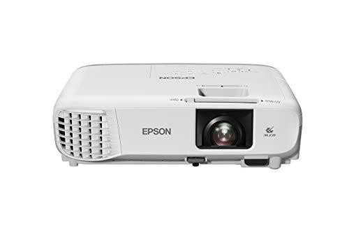 Epson Videoproyector Powerlite S39, SVGA 3300 lúmenes blanco y color, 3LCD con HDMI para Corporación Wi-Fi Opcional