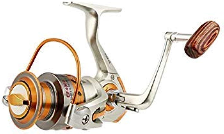 GEOPONICS Metal Spinning Fishing Reels Fly Wheel Fishing Metal Rocker ReelFishing Salt Water Fishing Tool Accessories colorSpool Capacity 1000 Series