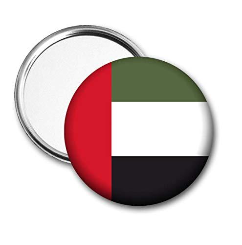 Verenigde Arabische Emiraten Vlag Pocket Spiegel voor Handtas - Handtas - Cadeau - Verjaardag - Kerstmis - Stocking Filler - Secret Santa
