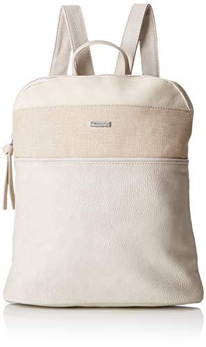Tamaris Damen Khema Backpack Rucksackhandtasche, Beige (Pepper Comb), 8.5x31x27 cm
