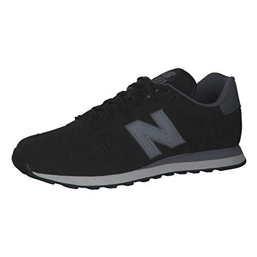 New Balance GM500LA1, Zapatillas Deportivas Hombre, Negro, 43 EU