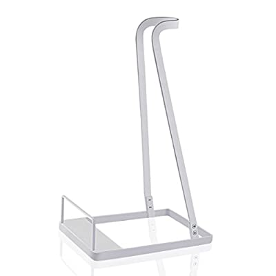 Vacuum Stand for Dyson V6 V7 V8 V10,Other Brands and Generic Stick Cleaner ,Citus Lightweight Warehouse Storage Rack Steel Support Organizer for Handheld Electric Broom (White, Ideal Gift)