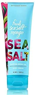 【Bath&Body Works/バス&ボディワークス】 ボディクリーム フレッシュシーソルトマンゴー Body Cream Fresh Seasalt Mango 8 oz / 226 g [並行輸入品]