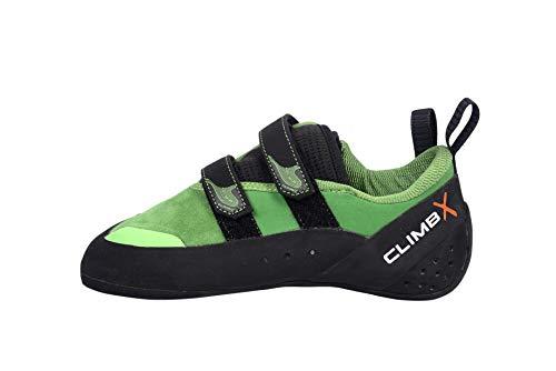 CLIMBX Rave NLV Green Women's Performance Rock Climbing Shoe...