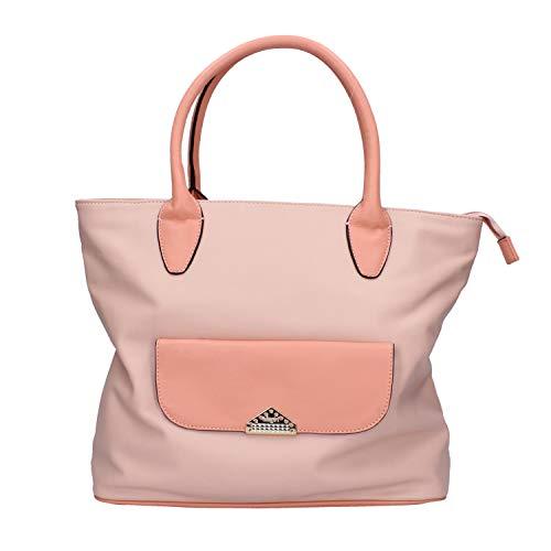 Blugirl - Blumarine Bolso de mano Mujer cuero sintético rosa Large