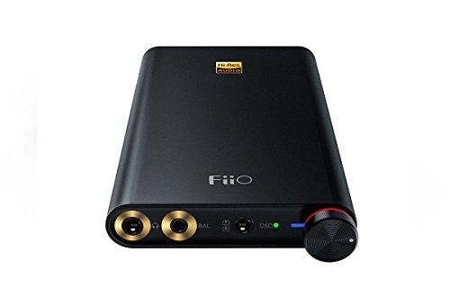 FiiO Q1 Mark II - Apple und PC Digital Analog Wandler und Kopfhörerverstärker - 32 Bit/384 kHz und DSD 256 nativ