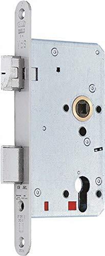 BKS panieklot, automatische krultang 65 mm, diameter 72 mm, kop 9 mm, DIN links voorstuk 20 x 235 mm, Fkt E met wissel, roestvrij staal, 21160-02-L-8.