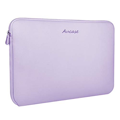 Aucase 13-14 Inch Laptop Sleeve, Thickest Lightest Water Resistant Neoprene Protective Laptop Case