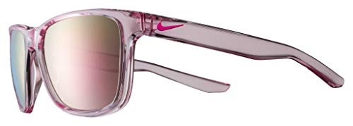 Nike EV0989-660 Flip M Sunglasses Pink Foam Frame Color, Grey with Light Pink Mirror Lens Tint
