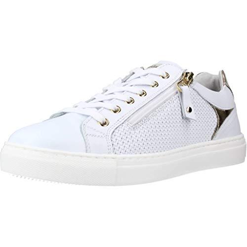 Nero Giardini E010652D Sneakers Donna in Pelle - Bianco 38 EU