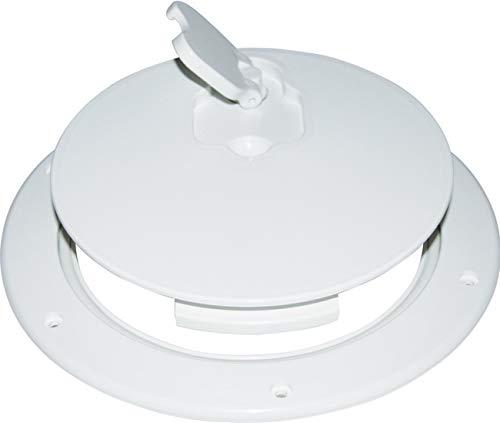 Osculati Kunststoff Inspektionsbodenluke mit Drehverschluss - Ø315mm - wasserdicht