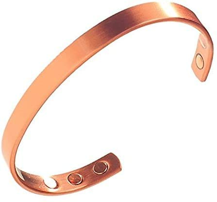 Earth Therapy Copper Magnetic Bracelet For Men and Women, Relieve Arthritis, Carpal Tunnel and Joint Pain