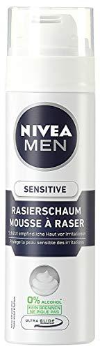 NIVEA Men, 6er Pack Rasierschaum für Männer, 6 x 200 ml