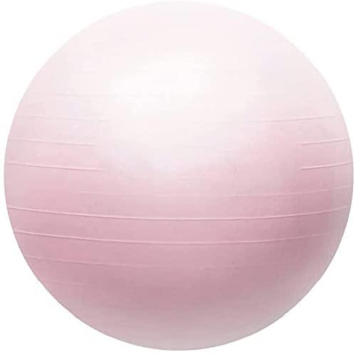 LSZ Pelota de Ejercicio Bola de Ejercicios de diseño Mate de 55-75 cm, Bola de Fitness, Bola de Yoga de Pelota de Pilates para Hacer Ejercicio y Adelgazamiento Pelota de Ejercicio (Size : 55CM)