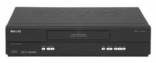 Philips VR 752 HiFi-Videorekorder schwarz