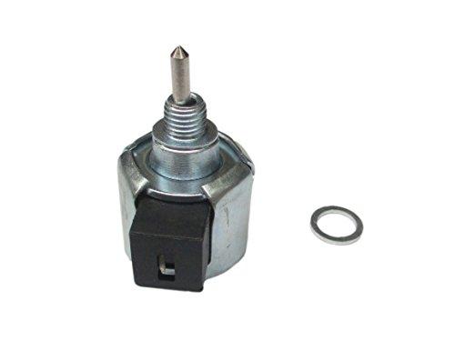 Carburetor Fuel Shut Off Solenoid for Kawasaki FR651V FR691V FS730V FH430V FH541V FH580V 4 Stroke Engine Motor Replaces Cub Cadet 21188-7002