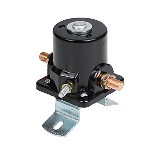 Starter Solenoid Relay SFD6025 12V 3-Terminal Replacement for Fo-rd 2N 8N 9N...