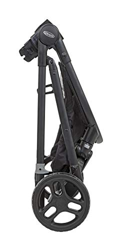 Graco Transform 2-in-1 Pushchair/Stroller (Birth to 4 Years Approx, 0-22 kg), Converts from Pramette to Pushchair, Black Graco Suitable from birth to approx. 4 years (22kg) Convertible pramette to pushchair in a flash. includes a comfy soft new-born liner for the first journey Click connect travel system compatible with graco snug ride/snug essentials i-size infant car seats 8