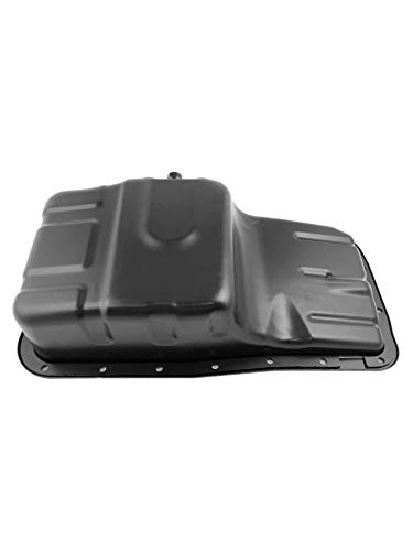Beasteel Engine Oil Pan with Drain Plug Replacement for 1992-2001...