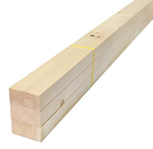 スターワン ホワイトウッド材 間柱 約298.5×4.5×9cm 978172 3個セット