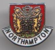 1000 Flags Northampton Town Crest Pin Badge