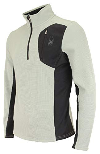 Spyder Men's Raider 1/4 Zip Sweater, Cirrus (F19) Small